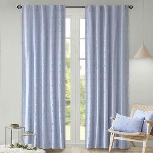 🆕️Urban Habitat Jacquard Pom Pom Window Curtains